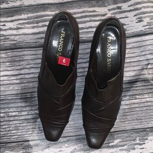 Franco Sarto Brown Shoes Size 6 M